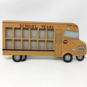 Other - Yellow School Bus School Years Picture Frame 12 Yr